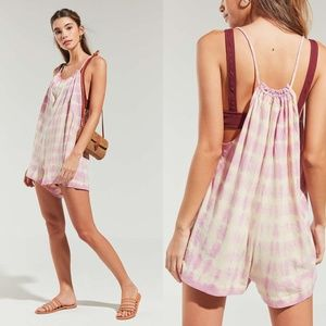Urban Outfitters Juniper Relaxed Fit Romper